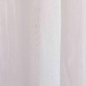 Ύφασμα γάζα Rain λευκό Φ300