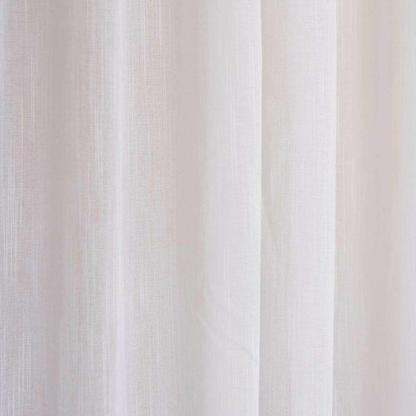 Κουρτίνα Rain λευκή