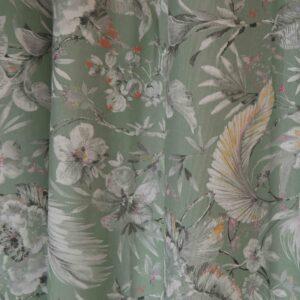 Κουρτίνα Λονέτα Watercolor Flower veraman