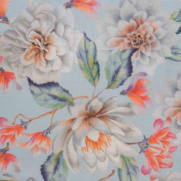 Decocraft Elise blue curtain