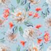 decocraft-curtain fabric elise blue