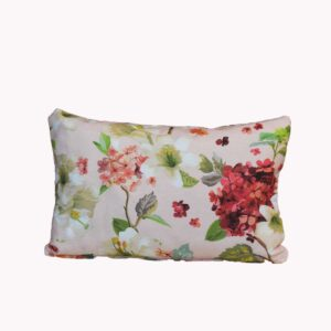 Decocraft-Deco pillow 30x50 Floral σομόν