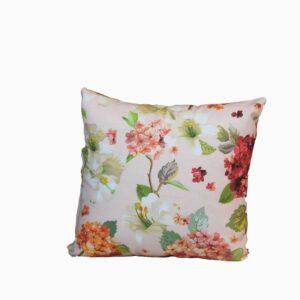 Decocraft-Deco pillow 40x40 Floral σομόν