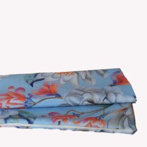 DECOCRAFT-ΜΑΞΙΛΑΡΙ ΔΙΑΚΟΣΜΗΤΙΚΟ 40Χ40 ELISE FLOWER BLUE