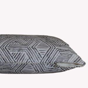 Decocraft-Deco pillow Geometric grey