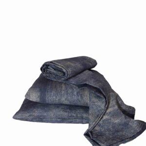 Ριχτάρι τριθέσιου καναπέ λονέτα Vintage μπλε