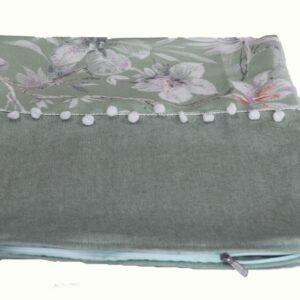 Μαξιλαροθήκη διακοσμητική Watercolor veraman 40x40 pompon