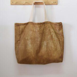 Υφασμάτινη τσάντα πολλαπλών χρήσεων Vintage μπεζ 45X50X12