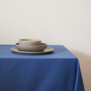 Τραπεζομάντηλο 140x140 Μονόχρωμο basic μπλε