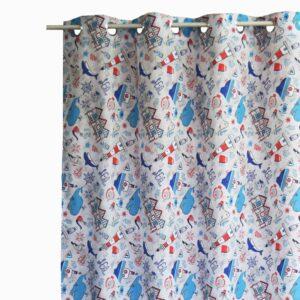 Κουρτίνα Λονέτα Faros 140x260 με τρουκ
