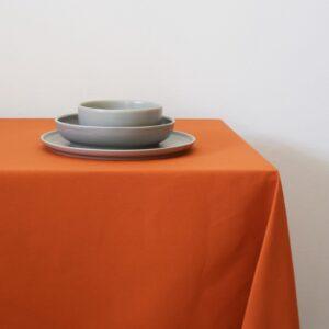 Τραπεζομάντηλο 160x260 Μονόχρωμο basic πορτοκαλί