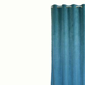 Κουρτίνα Βελούδο Velour βεραμάν 145x240 με τρουκ