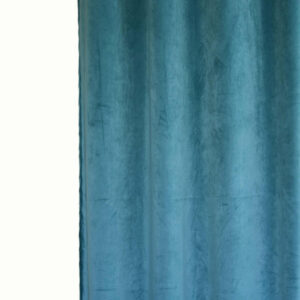 Κουρτίνα Βελούδο Velour βεραμάν 145x240 με τρέσα